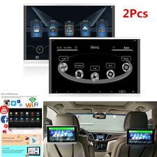 "1 Pair 11.6"" HD 1080P Car Headrest Monitor Android 7.1 Octa-Core WIFI 3G/4G HDMI"