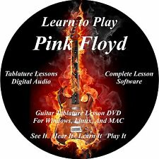 Pink Floyd Guitar TABS Lesson CD 187 Songs + Backing Tracks + BONUS!!