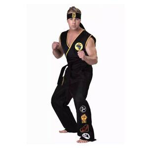 Cobra Kai: the Karate Kid Saga Halloween Cosplay Costumes taekwondo party set
