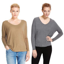 91b4e8ed41f03 Marks and Spencer Grey Long Sleeve Tops   Shirts for Women
