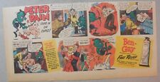 Ben-Gay Ad: Peter Pain: Cuts In On Cupid! 7.5 x 14 inches