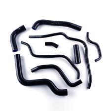 For Yamaha FZ6 FZ 6 2003-2011 2004 05 06 07 Silicone Radiator Coolant Hose Black