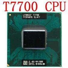 Intel Core 2 Duo T7700 2,4 GHz 4M 800mhz Notebook Laptop CPU processeurs FR