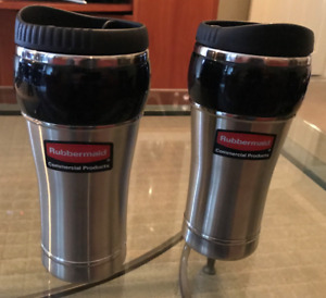 Lot of 2 Rubbermaid Travel Thermos