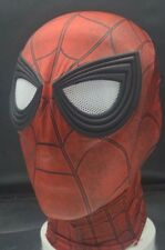US STOCK Spider-Man:Homecoming 3D Eyes Mask Cosplay Prop Halloween Lycra Fancy