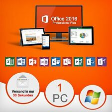 Microsoft Office 2016 Pro Plus 32 / 64 Bit - ESD Key Schlüssel - Download