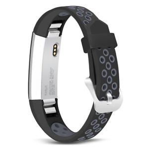 For Fitbit Alta/ Fitbit Alta HR Silicone Replacement Wristband Watch Band Strap