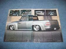 """1954 Ford F-100 Custom Pickup Truck Article """"Brother's Bond"""""""