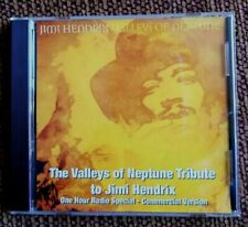 JIMI HENDRIX, VALLEYS OF NEPTUNE TRIBUTE; 1 HR RADIO SPECIAL PR CD, COMMERCIAL