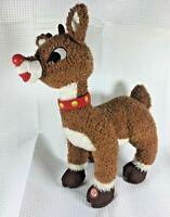 Hallmark Rudolph The Red Nosed Reindeer Plush Toy XKT5384 Christmas Santa EUC FS