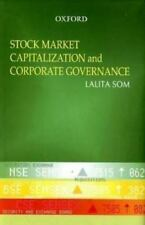 Stock Market Capitalization and Corporate Governance in India