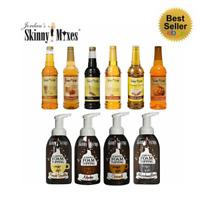 Jordan's Skinny Syrups | Sugar Free | 0 Calorie | Syurps and Foam Toppings