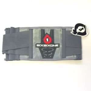 SixSixOne 661 Support Belt YOUTH Red/White One Size MX ATV Off Road Motocross