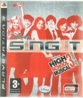 SING IT HIGH SCHOOL MUSICAL Videogioco PS3 Playstation 3 PAL ITA Con Manuale