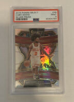 2019-20 Panini Select Coby White Silver Prizm Rookie Card RC PSA 9 MINT Bulls