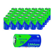 30 CR123A Lithium Battery CR17345 DL123A PL123A EL123A 3V Camera Photo Batteries
