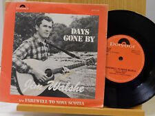 Jim Walshe 45 Days Gone By / Farewell To Nova Scotia ~ Polydor M- Ireland Garage