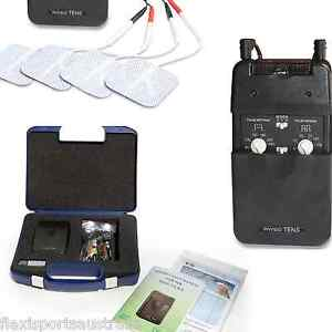 PHYSIO TENS  machine 8 pads, Easy to Use unit, physio support,rebates, chart