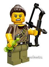 LEGO MINIFIGURES SERIE 12 - MINIFIGURA DINO TRACKER 71007 - ORIGINAL MINIFIGURE