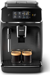 Philips 2200 Serie EP2220/10 Kaffeevollautomat, 2 Kaffeespezialitäten, Schwarz/S