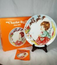Goebel Annual Christmas Plate Charlot Byj 3rd Edition Box 1975 Vintage