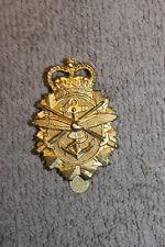 Original Cold War Era Canadian Armed Forces Cap Badge, Maker Stamped