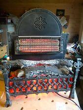 VINTAGE metà del secolo Belling ELECTRIC Medievale FUOCO splendido antico 2KW GA