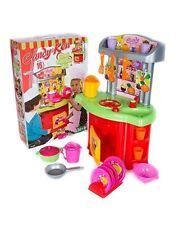 Kids Toy Kitchen Pretend Play Food Cooking Set Children Playset Accessories New