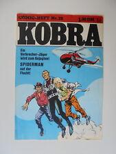 Comic Heft Kobra Nr.29 (1976) eingetütet & geboardet Zustand 2