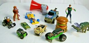 12 Piece Action Figure Car Monster Truck Super Hero and Others Toy Set