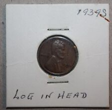 1939 S ERROR coin Lincoln wheat one CENT lamination loss assassination attempt