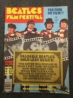 1978 Beatles Film Festival Magazine - Rock Music - Complete Issue