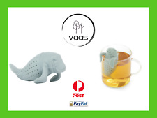 Manatee tea infuser cute silicone strainer loose leaf coffee novelty gift infuse