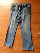 New York & Company  Denim Blue Jeans - Size 12 Petite - GC