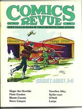 Comics Revue #11, 1985. *Flash Gordon, Steve Canyon, Spider-Man, Gasoline Alley