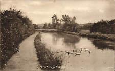 Banbury Canal by Frith # 70594 for R. Brummitt & Sons, Banbury.