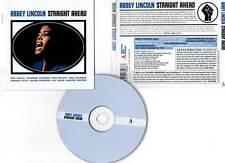 "ABBEY LINCOLN ""Straight Ahead"" (CD) 2012"