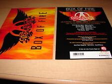 AEROSMITH - BOX OF FIRE!!!!!!!!!!!RARE FRENCH PRESS/KIT