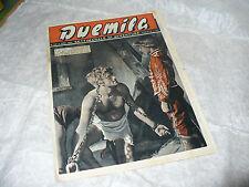 DUEMILA SETTIMANALE DI AVVENTURE N.44 1951 RARA RIVISTA FOTOROMANZI VARIETA'