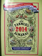 THE OLD FARMER'S ALMANIC BY ROBERT THOMAS 2014 HARDCOVER