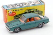 NOVOEXPORT 1/43 ALFA ROMEO 2600 BERTONE TBILISSI URSS USSR CCCP COPIE POLITOYS