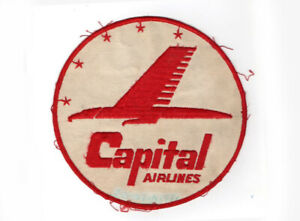 """CAPITAL AIRLINES PATCH EMBROIDERED UNIFORM PATCH 7"""""""