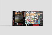 Super Mario All-Stars [SNES] Repro Ersatzbox | Leerbox | Replacement Box