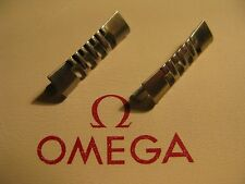 Omega Stainless Steel 586 End Links x 2 - In excellent unused condition