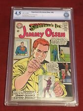 SUPERMAN'S PAL JIMMY OLSEN 83 CBCS 5 Jerry Siegel George Papp Curt Swan CGC 1965