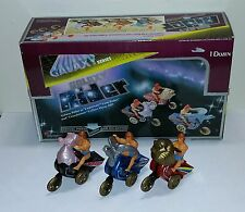 Vintage Masters of the Universe He Man Bootleg Galaxy Riders and Display Box