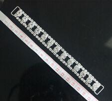 Clear Crystal Rhinestone Bikini Connector Buckle Metal Chain For Swimming Wear