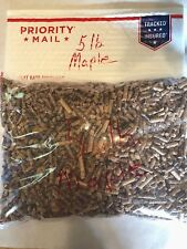5 LBS.MAPLE BBQ SMOKING HARD WOOD PELLETS - 1-5 POUND BAG
