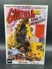 Neca Godzilla 1954 King of the Monsters Poster Variant Collectible Figure NIB