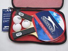 Tischtennis-Set 6tlg Tischtennisschläger 2 Schläger + 3 Bälle + Tasche Slazenger